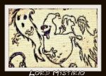 Halloween party: Latecomers dancing squad. by LordMystirio