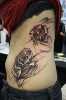 different roses by SimplyTattoo