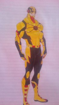 reverse flash redesign(cw) by wolf94fc