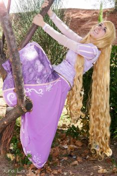 [Tangled] Rapunzel by YunaB-Rabbit