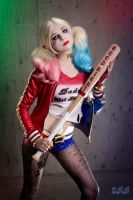 More Suicide Harley Quinn!!! by andyrae