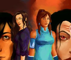 legend of korra by MissRoza
