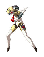 Persona 4 Arena: Aigis by ChronoRabbitAlice