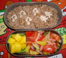 Risotto grey shrimps bento by Vetriz