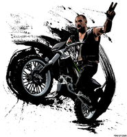 Francis motocross by TheMadSoldier
