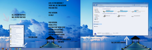 Azul Visual Style for Win7 Preview by bhast2