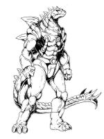 Stego by Frank Fromme by tyrannosaur1984