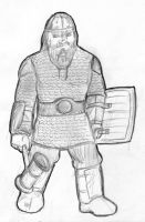 Dwarf Character Sketch by mongreldesigns