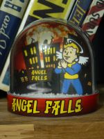 Fallout Snowglobe - Angel Falls by iSeptem