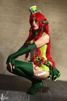 Poison Ivy - Alternate Steampunk Version by Nikoschka