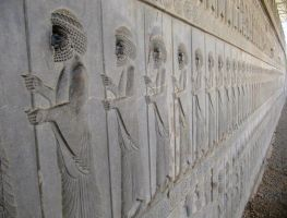 Achaemenid soldeirs by zohreh1991