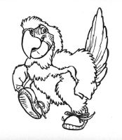 Parrot Charity logo by caramitten