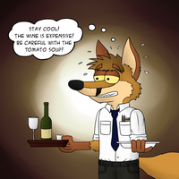 Waiter! by LupusNic