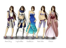 Aria Wardrobe Reference by Daydreamer-520