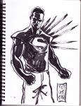 DSC Depowered Superman by Sassophiliaco