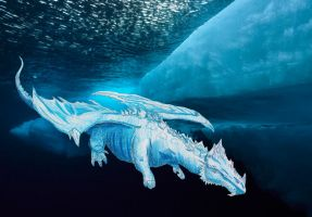 Ice Dragon by Fregatto