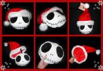 jack- Christmas pillow by caithness-shop