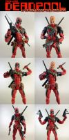Custom Maskless Bowen Deadpool by KyleRobinsonCustoms