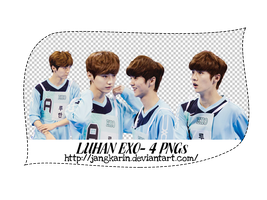 [Render Pack] Luhan EXO at the IAC  - 4 PNGs by jangkarin