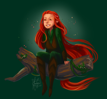 Tauriel by KuroCyou