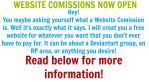 WEBSITE COMISSIONS NOW OPEN by BrownSwissAndLove