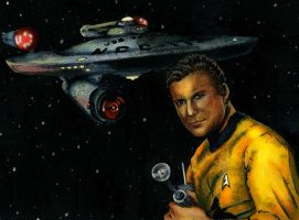 Captain Kirk by Alexis-Paige