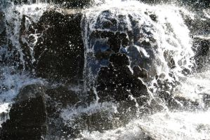 Waterfall - stock 3 by Angband