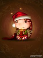 Cristmas candle fairy by LiaSelina