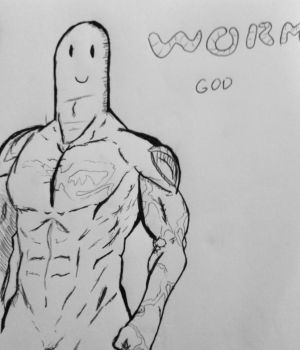 Worm God by iAmIchor
