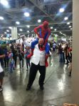 Spider-Man versus the Kingpin of Crime by fireemblemspider
