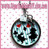 Alice SUGAR POT Necklace by SugarAndSpiceDIY