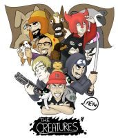 creatures :D by gassymexicanfan