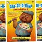 My Custom Sketch Card Graphic - GPK Style! by DeJarnette