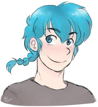 Ranma 1/2 - Band AU - Good Dye Young by Ranryo82