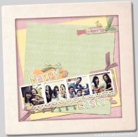 Easter Scrapbook by wociaocandy