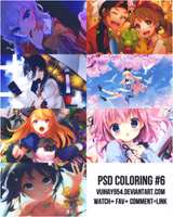PSD Coloring #6 by vuihay954