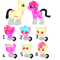 Foals for lilylover49-CLOSED by TwilightLuv10