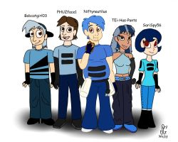 Human!TBLT-Toasters by BobcatAngel