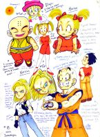 DBZ Chesnut Sheet by kwessels