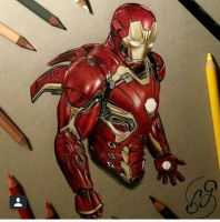 Iron Man by InexplicableCute
