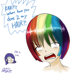 WHAT THE HECK WITH MY HAIR?! by LinLaiFeng