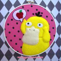 Hungry Psyduck Hoop by iggystarpup
