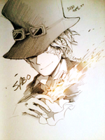 ONE PIECE - SABO by lluna10