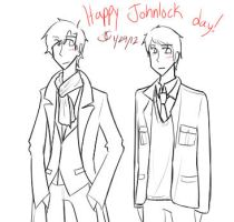 Happy Johnlock Day by JCgurl201