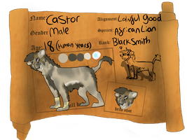 FR Application: Castor by bedheadd