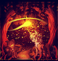 ~ Under the shade of trees a new life is born ~ by Swaglly