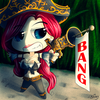 Miss Fortune Chibi by ShimikoO