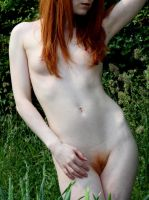 Red hair nude by Studio5542