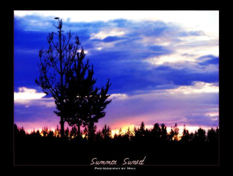 Summer Sunset by andaria
