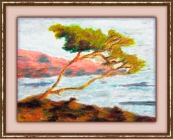 Provence Seascape by fmr0